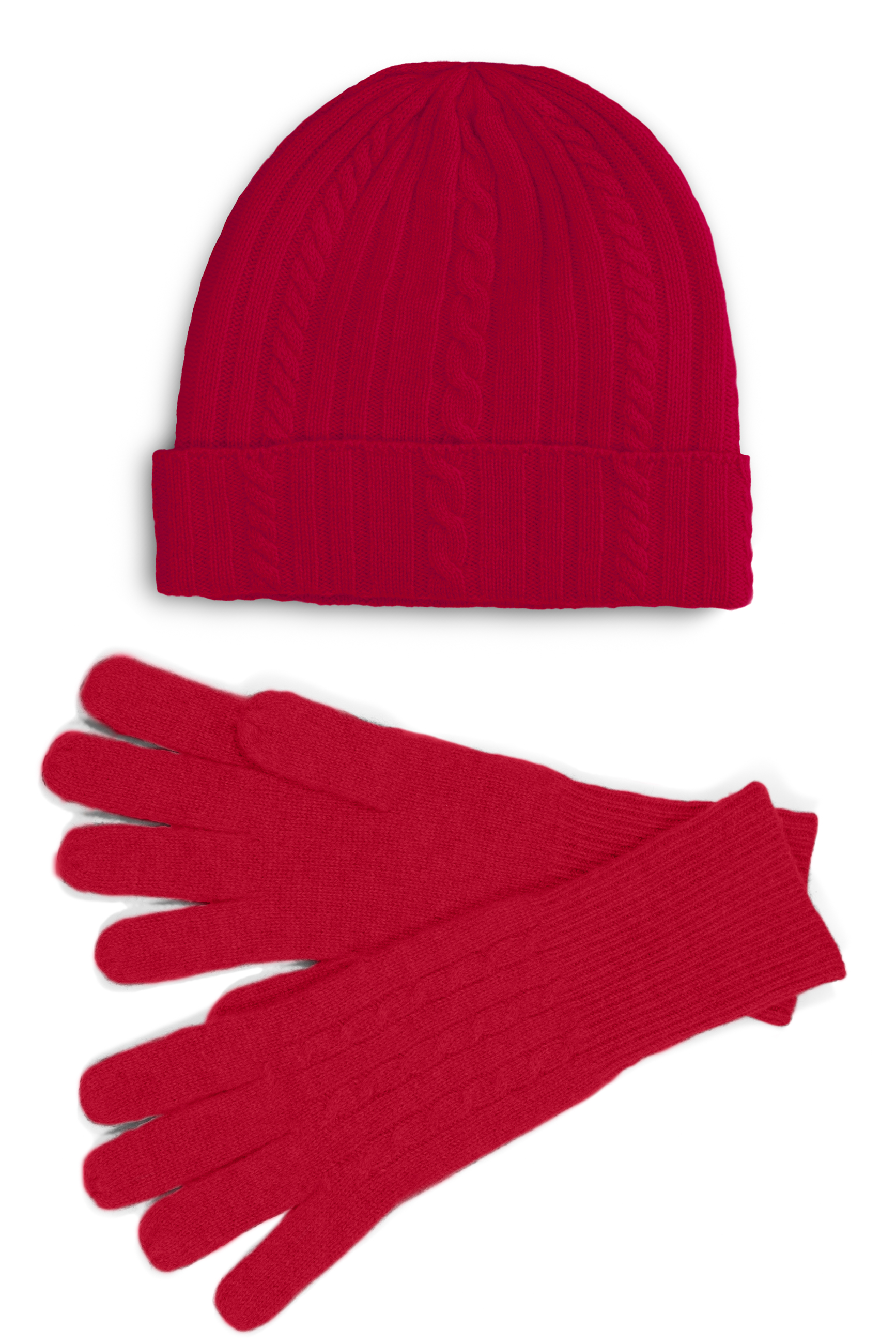 Fishers Finery 100% Pure Cashmere Hat & Glove Set w/ Gift Box at Sears.com